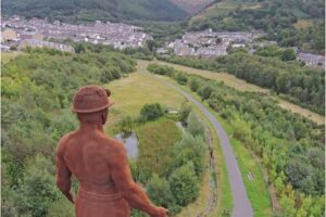 Guardian Overlooking Six Bells - Image Bill Hillier