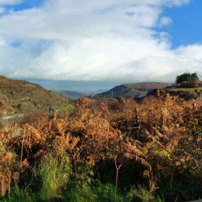 Looking Towards Clydach Gorge - Image Carolyn Jones